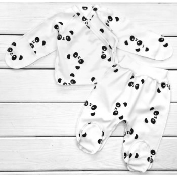Комплект одежды Интерлок Размеры 50 56 в роддом для новорожденных