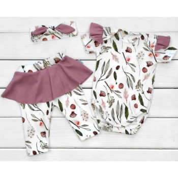 Набор одежды Одуванчик Интерлок 68 74 80 размеры для девочек