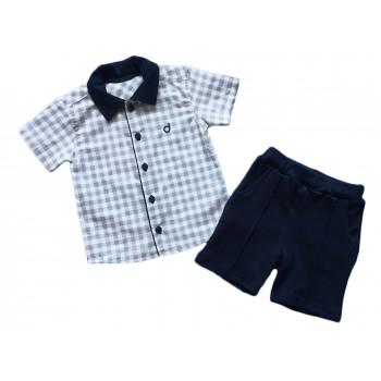 Летняя рубашка и шортики на мальчика