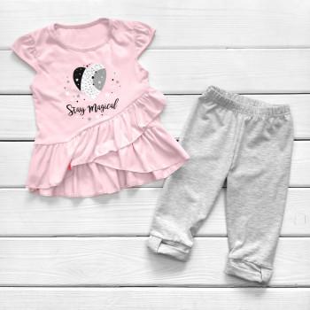 Комплект детской одежды Magical: блуза и лосины для девочек