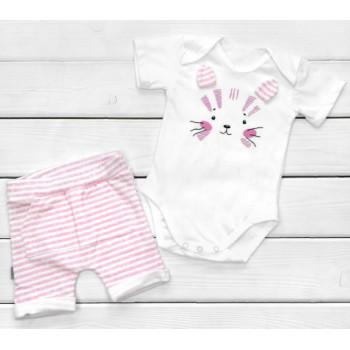 Летний комплект одежды Котик Кулир 86 размеры для девочек