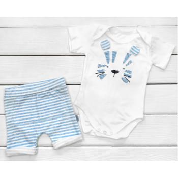 Летний комплект одежды для мальчиков 68 74 80 86 размеры