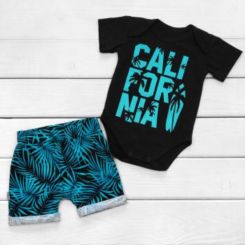 Детские футболка + шорты California 68 размер Кулир