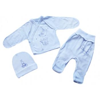 Комплекты одежды в роддом Белый Рибана для новорожденных