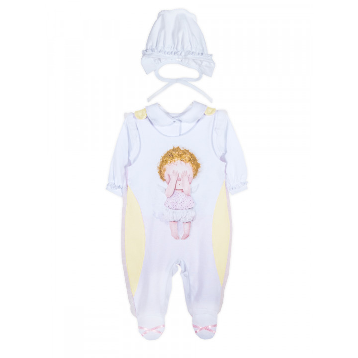 """Комплект одежды на выписку """"Желтая Бабочка"""" от Gapchinska для малышей"""