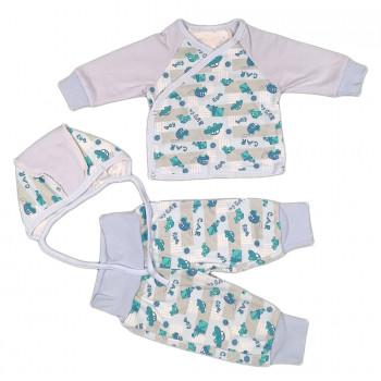 Комплект одежды с начесом 62 и 68 размеров для мальчиков