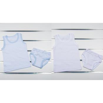 Комплект белья (майка и трусики) для малышей