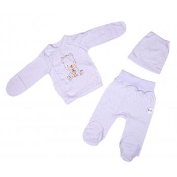 Набор одежды Рибана Белый для новорожденных