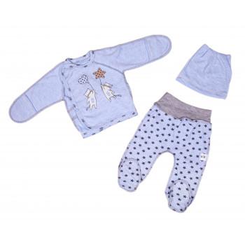 Набор одежды Голубой Интерлок для новорожденных мальчиков