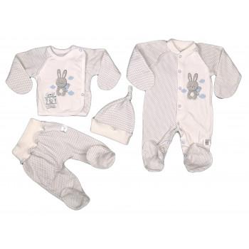Набор 4 предмета в роддом новорожденному мальчику