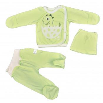 Комплект одежды салатовый 56 62 размеры для новорожденных