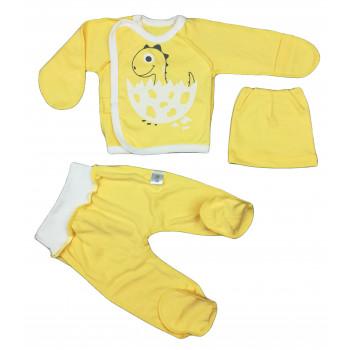 Набор одежды желтого цвета в роддом для новорожденных