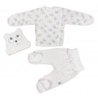 Комплект одежды в роддом для новорожденных. Размер 56, 62