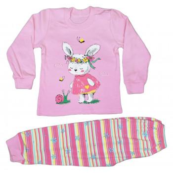Пижама 92 104 110 размеры из ткани интерлок на девочку