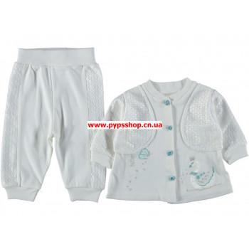 """Тонкий нарядный комплект одежды """"Мечта"""" для малышей"""