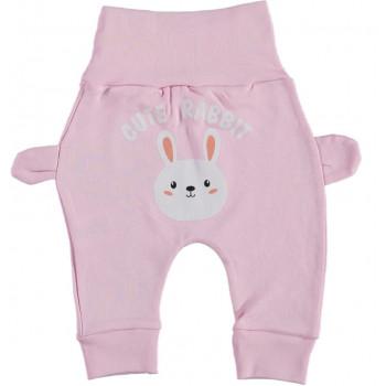 Штанишки Cute Rabbit Розовые 62 68 74 80 размер на девочку до года