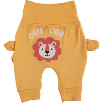 Штанишки Лев Желтые 62 68 74 80 размер для малышей до года