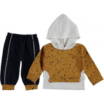 Комплект ( кофта + штаны) Двунитка 68 74 80 размер на ребенка 6-9, 9-12, 12 месяцев