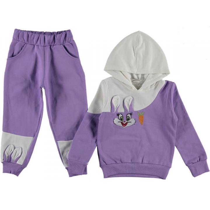 Комплект Flower Kids Фиолетовый Футер 104 116 128 размер на девочку 1-2, 3-4, 5-6, 7-8 лет