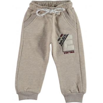Детские теплые штаны Canix Kids Трехнитка Кофейные 92 98 104 110 116 размеры