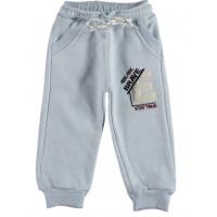 Теплые штаны Canix Kids Трехнитка Голубые 92 98 104 110 116 размеры на мальчика 2-3-4-5-6 лет