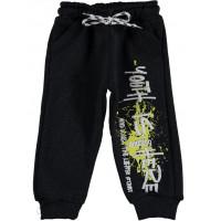 Теплые спортивные штаны Canix Kids Трехнитка Темно-серые 92 98 104 110 116 размеры на мальчика