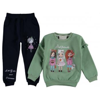 Теплый комплект одежды Best Friends Трехнитка 98 104  размер на девочку 3 4 лет