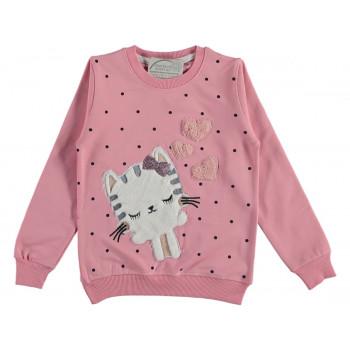 Свитшот Pembe Life Розовый Начес 86 92 98 104 размер на девочку 1-1.5-2-3-4 лет