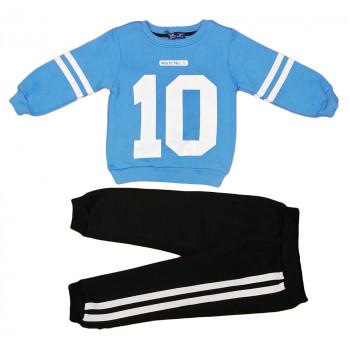 Теплый (ткань трехнитка) комплект одежды для мальчика Номер 10. Размеры 98 104 110 116