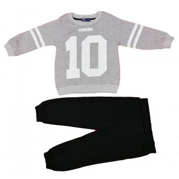 Теплый (ткань трехнитка) комплект одежды 98 104 110 116 размера для мальчиков Номер 10