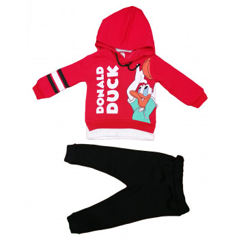 Теплый (ткань трехнитка) комплект одежды 98 104 110 размеры Дональд Дак