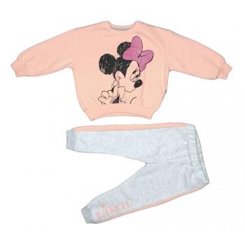 Теплый (ткань трехнитка) комплект одежды Минни Размеры 92 98 110