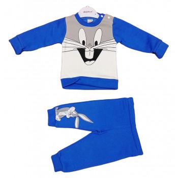 Теплый (ткань трехнитка) комплект одежды 74 86 92 размеры Зайчик