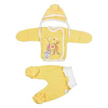 Набор для новорожденного Собачка из ткани интерлок