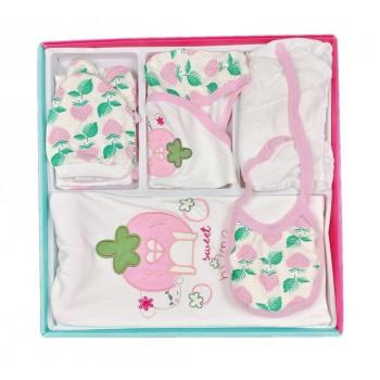 Летний набор из 10 предметов для новорожденной девочке