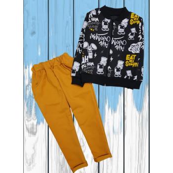 """Костюм """"Барт Симпсон"""" Двунитка  110 116 размеры на мальчика 5 6 лет"""