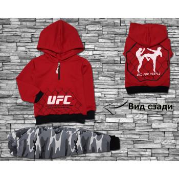 Спортивный костюм для мальчика UFC, двунитка, 110 116 размер