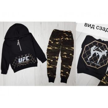 Спортивный костюм UFC детский, двунитка, 98 104 размер