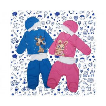 Теплые наборы одежды 50 размера в роддом для новорожденных