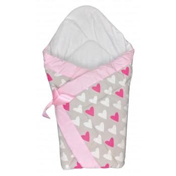 Демисезонный конверт одеяло в роддом новорожденным девочкам