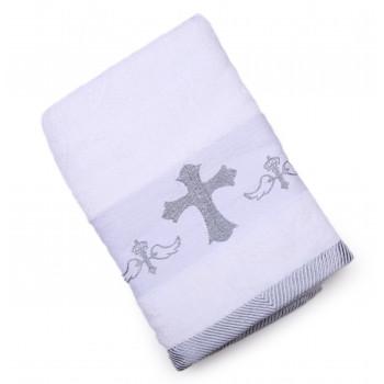 Махровая крыжма для крещения ребенка