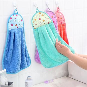 Махровые маленькие кухонные полотенца фартук для рук 30*50 см