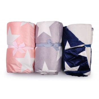 Детские теплые двойные одеяла 85*110 см