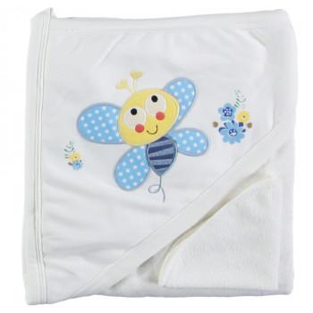 Детское уголок полотенце махровое Babyline 80*85 см Уголок