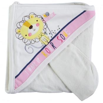 Детское полотенце махровое Baby Line Уголок 80*85 см