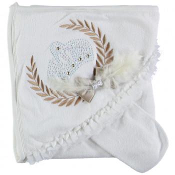Детское красивое полотенце махровое Baby Line 80*85 см Уголок