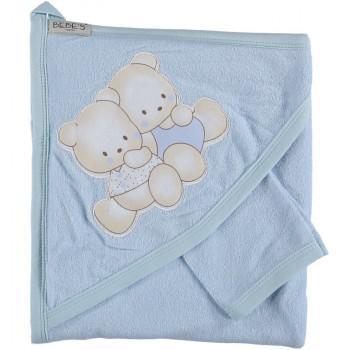 Полотенце детское Bebe`s 80*80 см Махровый уголок для мальчиков