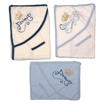 Махровое полотенце для мальчиков Принц Размер 75*80 см