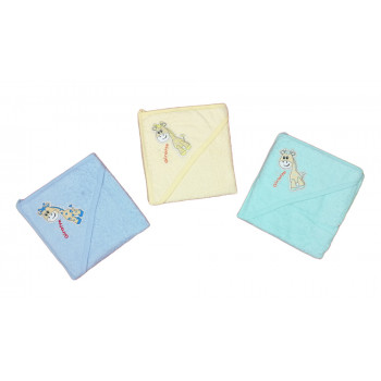 Махровые полотенца для малышей с рождения. Размер 75*80 см