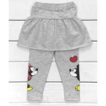 Лосины с юбочкой детские Минни и Микки Маусы 86 98 размеры